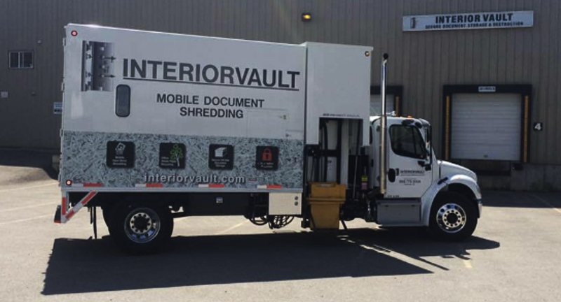 Secure paper shredding | Interior Vault | Kamloops, BC