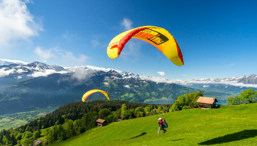 Paragliding Interlaken Booking