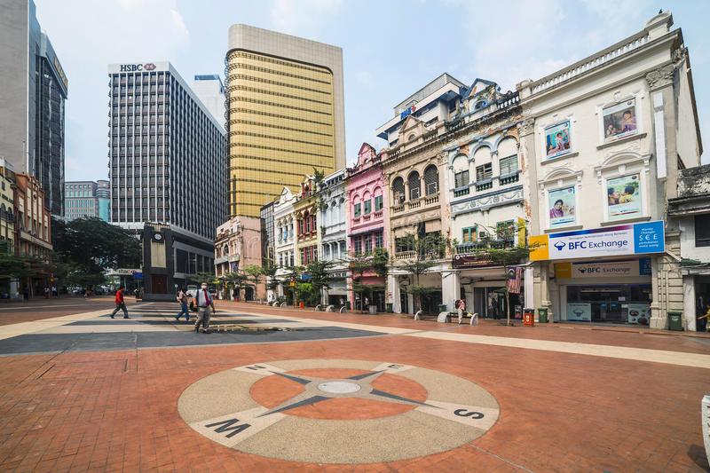 KualaLumpurLebuhPasarBesarOldMarketSquareHorlogeBellClock
