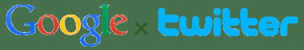 Google x Twitter