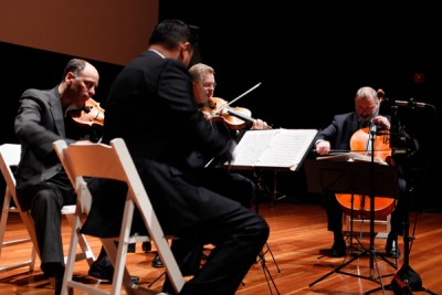 Chamber music day at the  de Young Museum