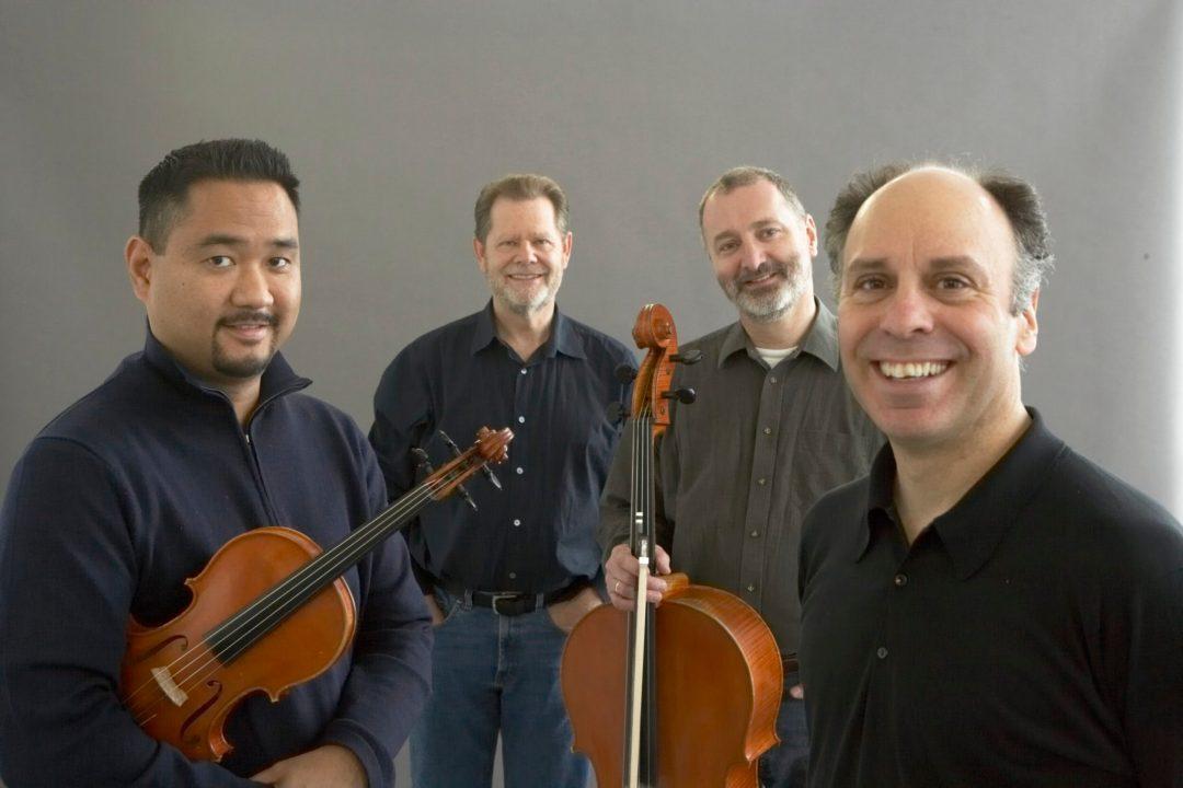 Alexander-String-Quartet_(L-R)Zakarias-Grafilo-violin_Paul-Yarbrough-viola_Sandy-Wilson-cello_Frederick-Lifsitz-violin_Photo-Rory-Earnshaw