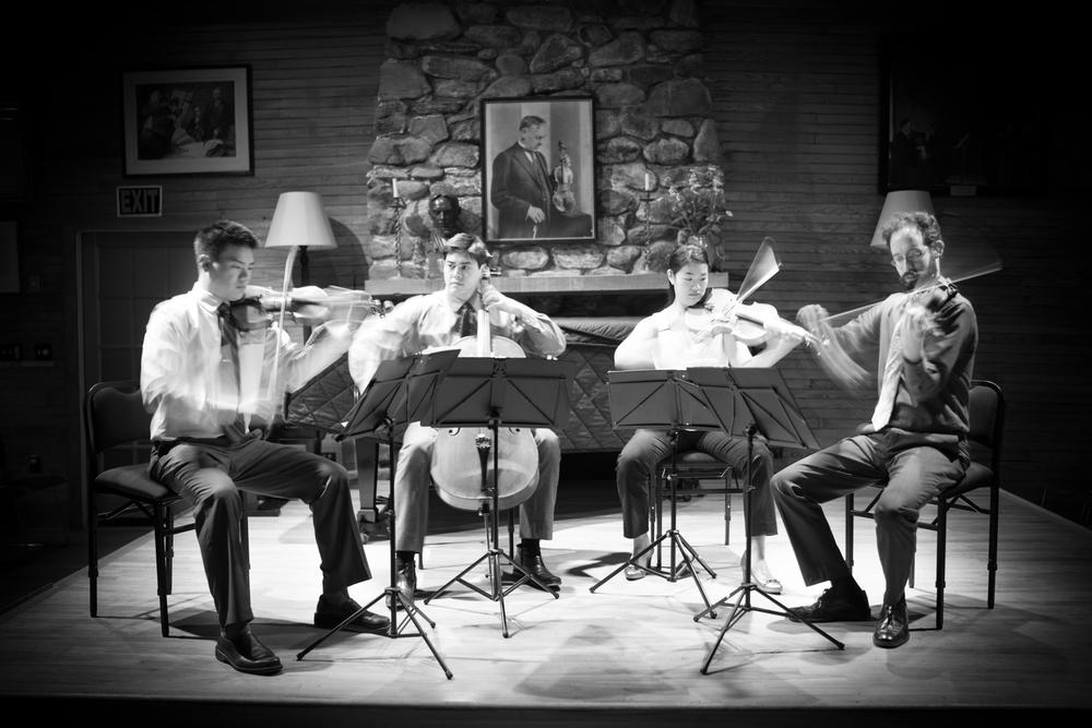 Telegraph-Quartet(L-R)_Eric-Chin(violin)_Jeremiah-Shaw(cello)_Pei-Ling-Lin(viola)_Joseph-Maile(violin)_photo-Eric-Chin
