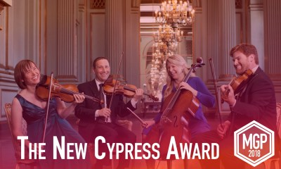Cypress Award : Photo by Gregory Goode