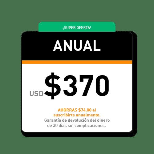Pago anual de los cursos de coaching online