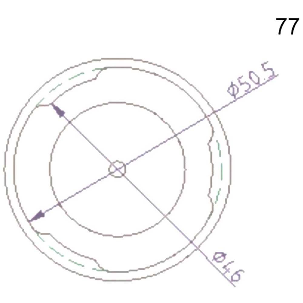 Stierius Anschlussdeckel Nr.77 Ate 03.9302-0914.2 3-0061