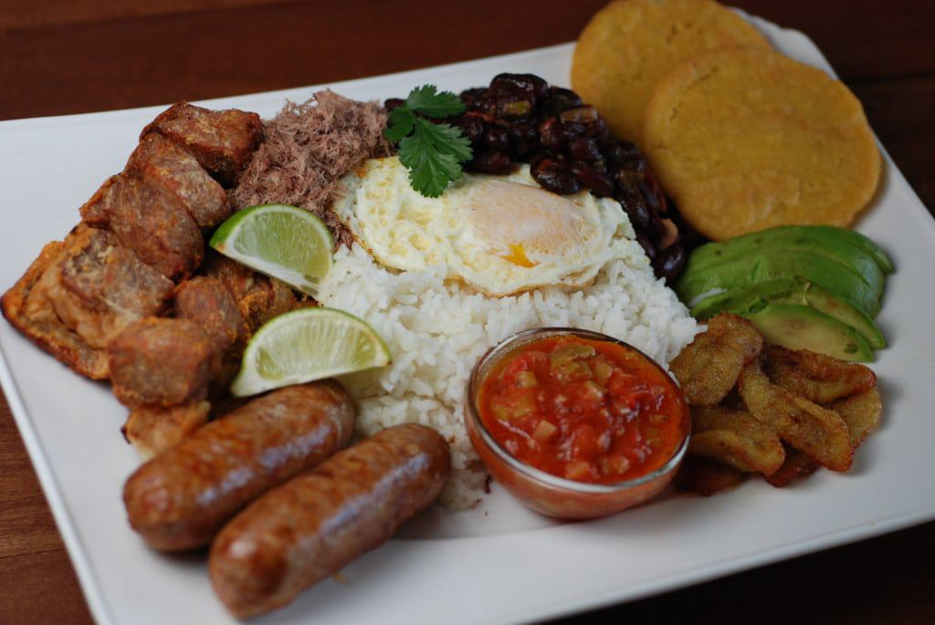 Colombia Bandeja Paisa A Feast on a platter
