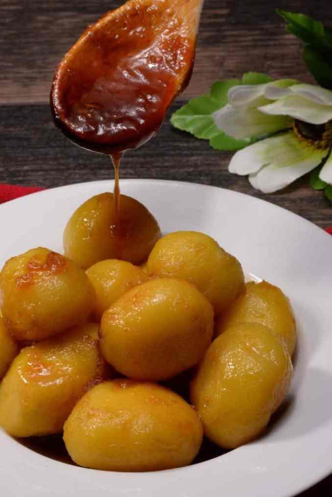 Icelandic Caramelized Potatoes - International Cuisine