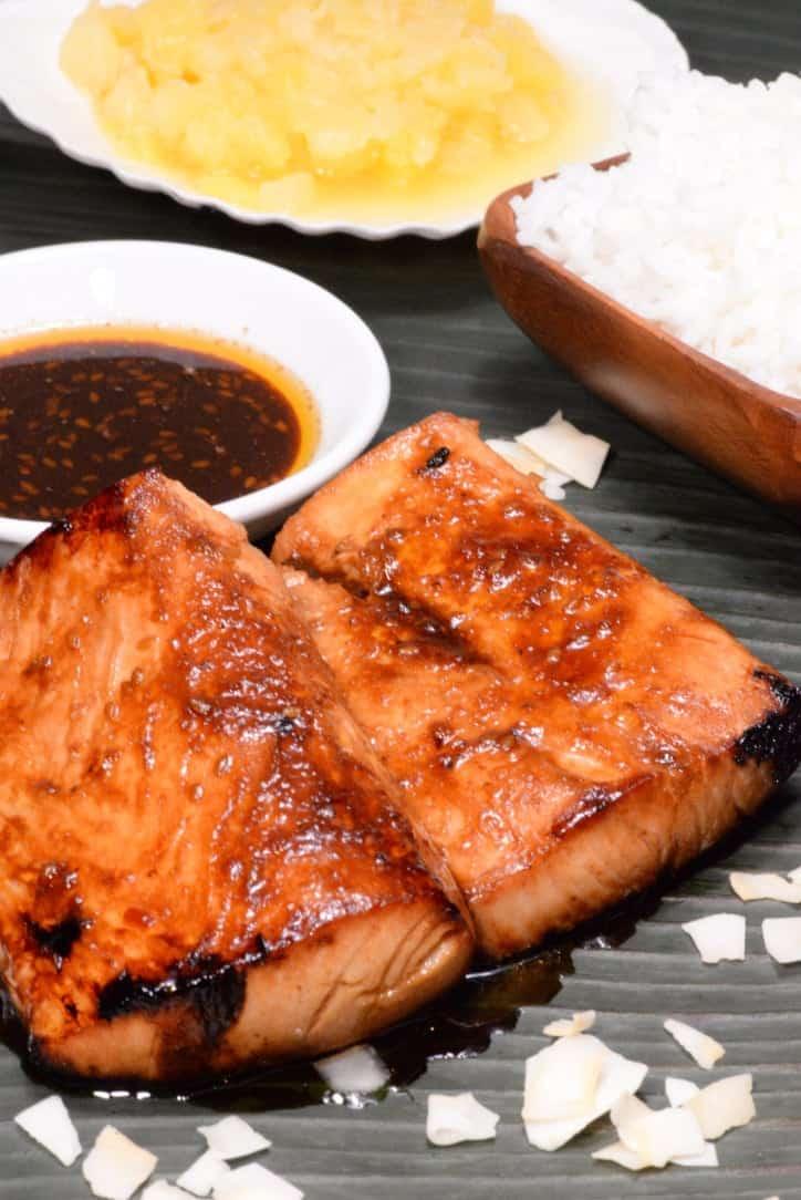 Kiribati Glazed Mahi Mahi International Cuisine