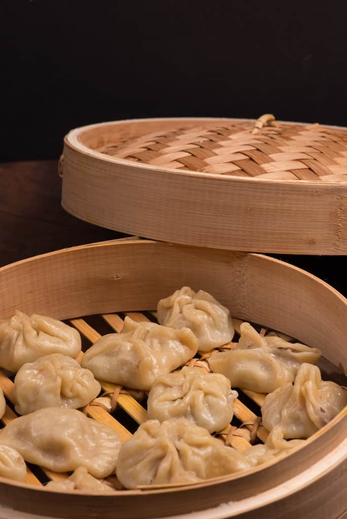 Mongolian Buuz Steamed Dumplings International Cuisine