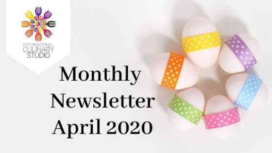 Monthly Newsletter – April 2020