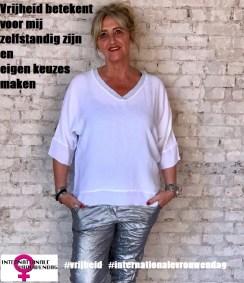 marjolijn internationale vrouwenag 08 maart 2020 thema vrijheid