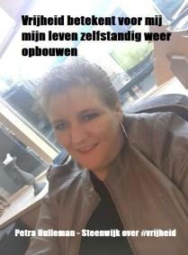 Petra Hulleman over vrijheid