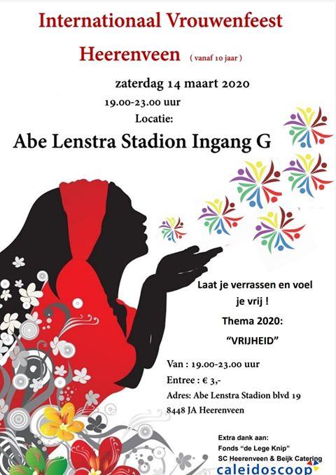 heerenveen internationale vrouwendag 2020