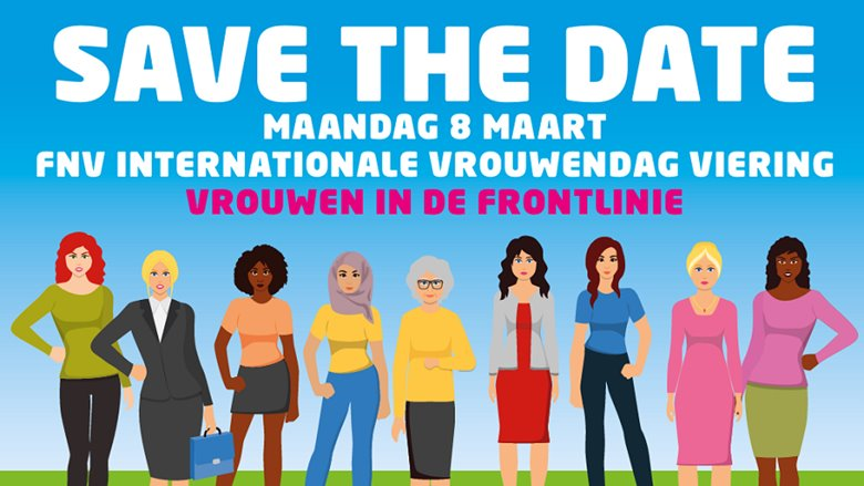 internationale vrouwendag fnv amsterdam 2021