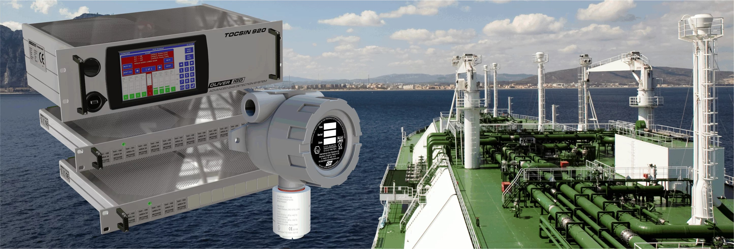 Marine Gas Detection Banner