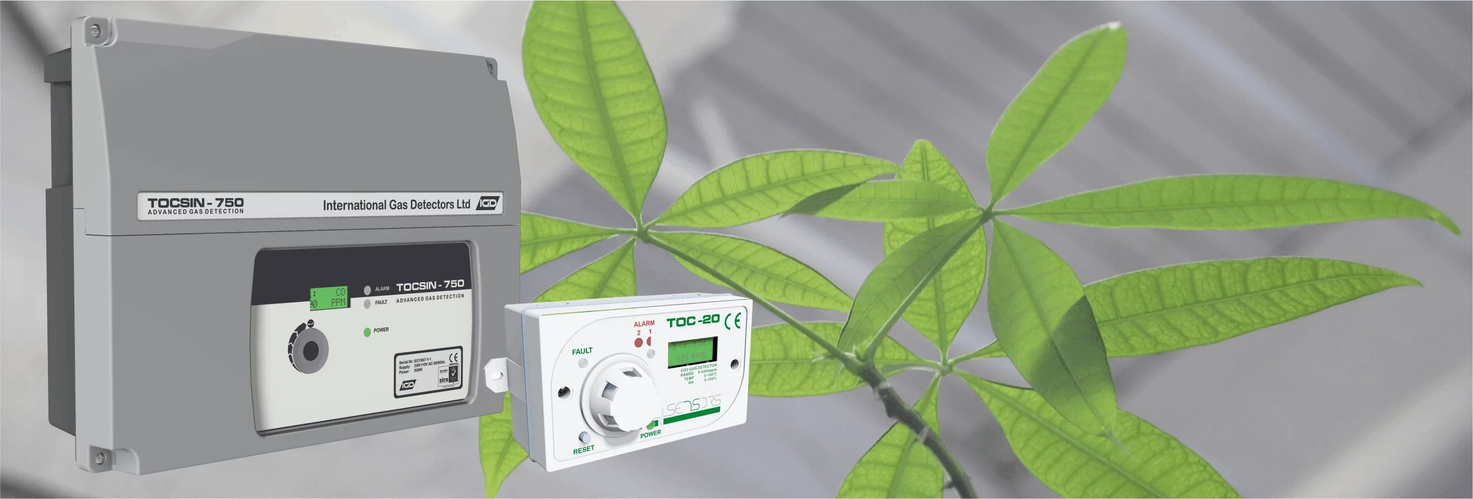 Horticulture Gas Detection Banner