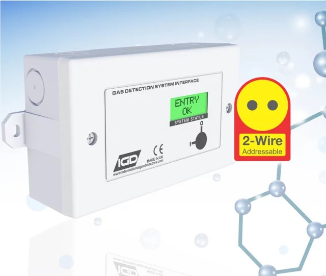 2 wire Annunciator no add ons with molecule background