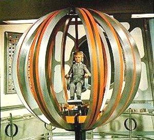 Joe 90 inside the space ball