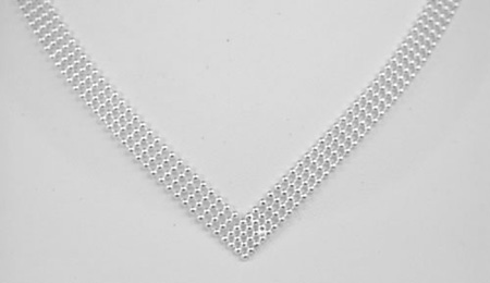 Sterling Silver Multi-Row Bead Necklaces and Bracelets