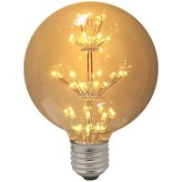 Impact LED Antique Globe Light Bulb 1.3W ES Warm White