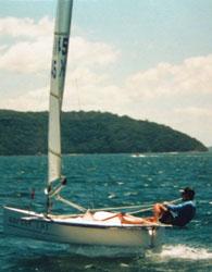 1999 Ian Ward's first centreline foiler
