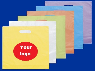 wholesale custom printed die cut plastic bags