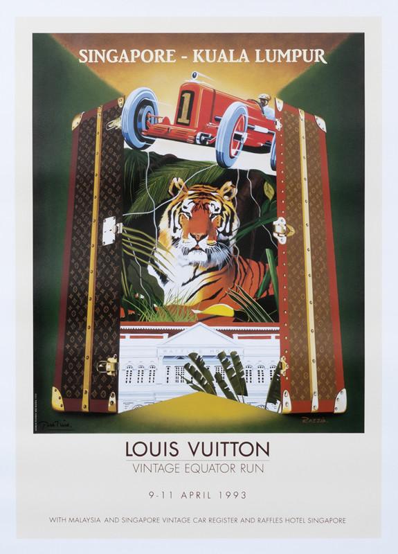 louis vuitton vintage equator run singapore kuala lumpur medium format open edition razzia 2015 ca 29 5 x 39 5 75 x 100 cm giclee