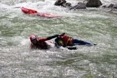 Rescue swimmer WWTC