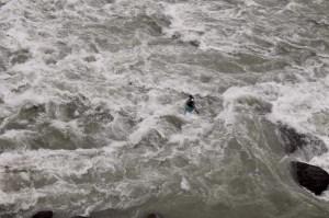 Binod Gurung of Wet n Wild explorations, lardo rapid Lower Indus India