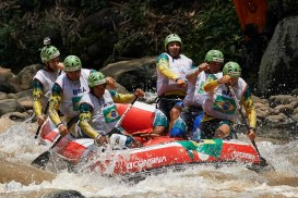 World Rafting Championship 2015, Citarik River, West Java, Indonesia, Open Men, Head to Head, 1st place, Brazil