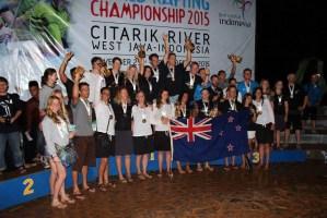 WRC15 NZ medals