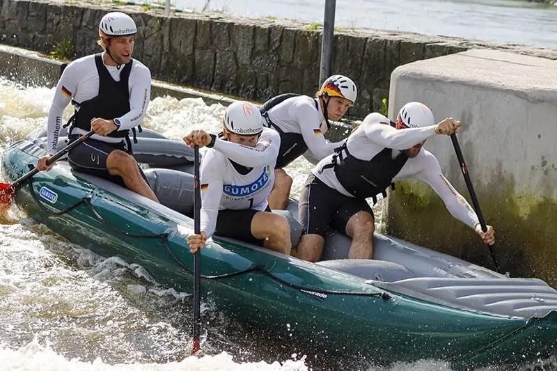 Return to raft racing - Troja Cup