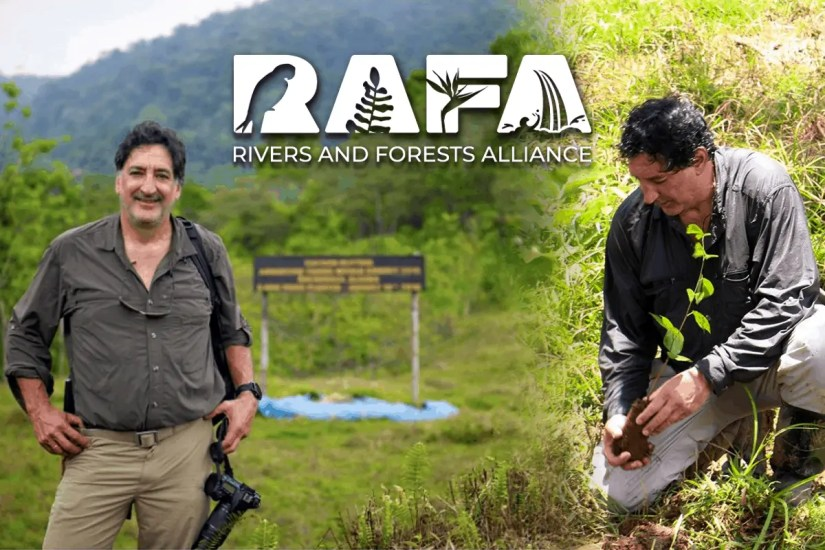 International Whitewater Hall of Fame and IRF honour RAFA - Rafael Gallo