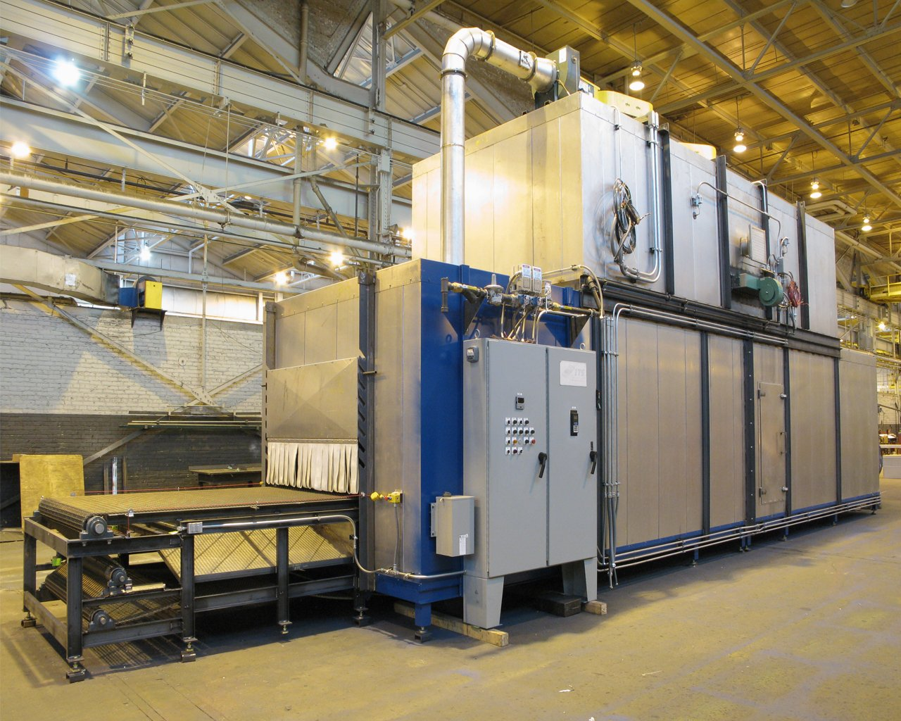 Core Wash Drying Oven  Industrial Ovens  International