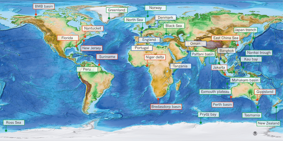 International water law project blog transboundary aquifers archives figure 1 world map of topography and bathymetry showing known occurrences of fresh and brackish publicscrutiny Images