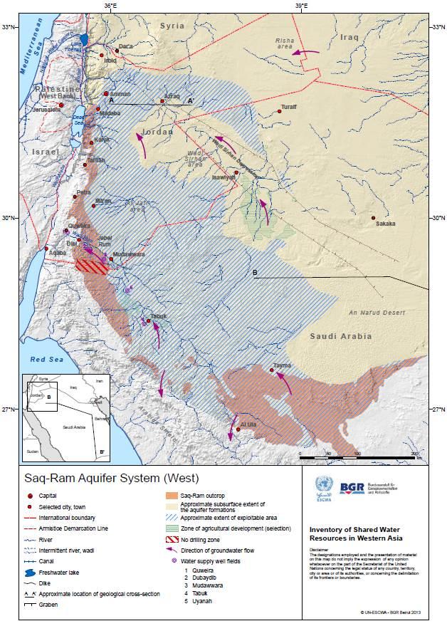International water law project blog transboundary aquifers archives saq ram aquifer map publicscrutiny Images