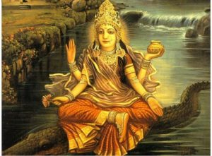 Ganga - Hindu river Goddess of the Ganges River