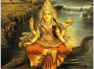 Ganga - Hindu river Goddess of the Ganges River