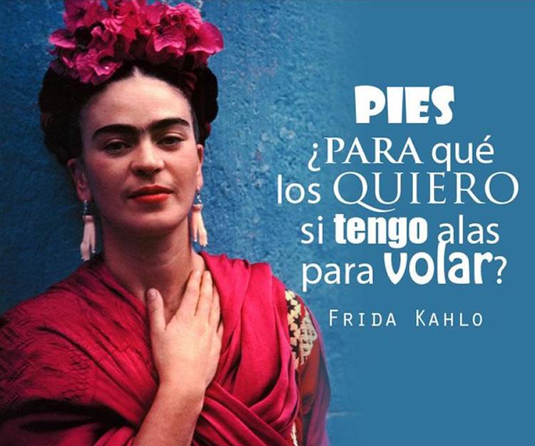 Las 15 Mejores Frases De Frida Kahlo Internesante