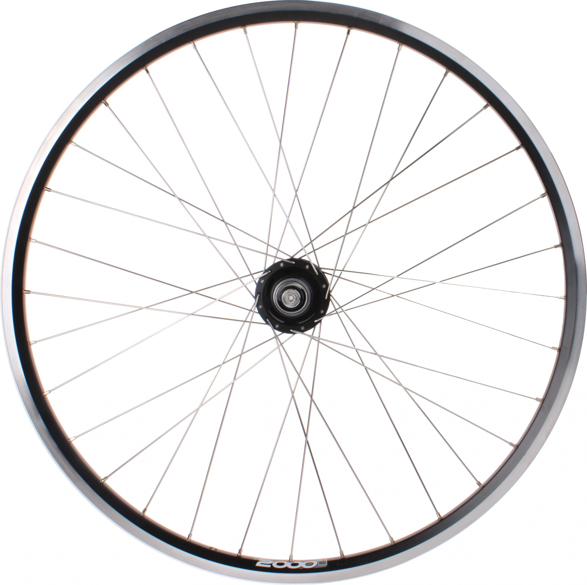 Ryde front wheel Zac 2000 28 inch disc brake 32G alu black