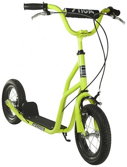 stiga air scooter inch junior caliper green