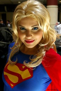 Supergirl Has Blue Eyes!