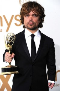 Dinklage Owns an emmy