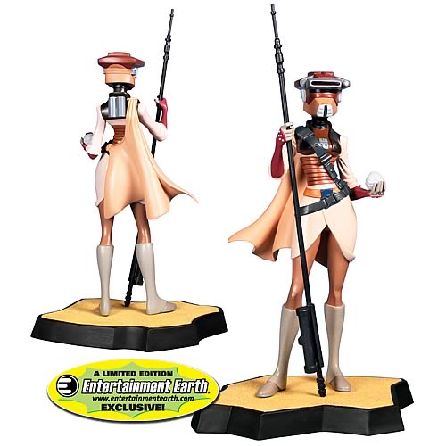 AUTOIMAGES GE80145lg EE Exclusive Star Wars Leia in Boushh Disguise Maquette