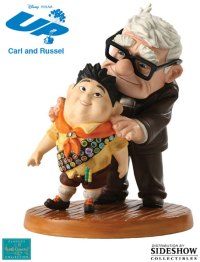 UP! Carl and Russell : Meritorious Moment Porcelain Statue