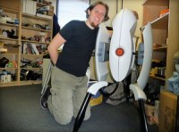 Make Your Own Life Sized Portal Turret