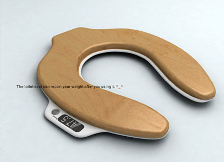 toilet scale 1 Pre & Post Dump Weighing: The Toilet Scale