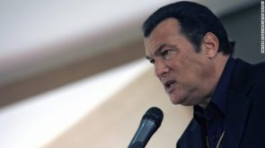 Actor Steven Seagal appointed Russian ministrys special representative