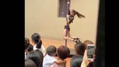 Chinese kindergarten principal fired after kids welcomed with pole dance